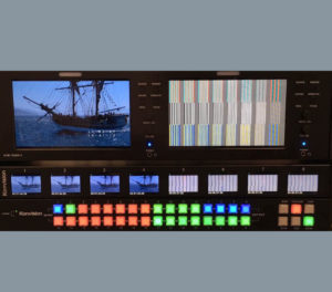 Switor – Unique Octuplet 02-inch Monitor with Custom Switcher