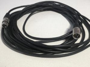 GL-3-Pin DMX Cord 10 Feet